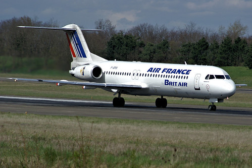 F-GPXI (cn 11503)Fokker 100 (F-28-0100)Air France (Brit Air)