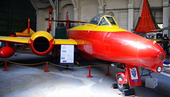 Gloster Meteor Mk.16, the Boscombe Down Aviation Collection, Old Sarum Airfield.