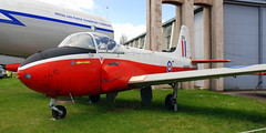 Jet Provost, at the Boscombe Down Aviation Collection, Old Sarum Airfield.