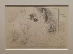 Picasso illustrateur : peintre au travail