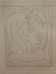 Picasso illustrateur : Jupiter et Sémélé