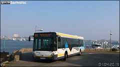 Heuliez Bus GX 327 – CTM (Compagnie de transports du Morbihan) (CAT, Compagnie Armoricaine De Transports) (Transdev) / CTRL (Compagnie de Transport de la Région Lorientaise) n°12020 ex Autobus Aixois / Aix-en-Bus (Aix-en-Provence) n°9296 - Photo of Port-Louis