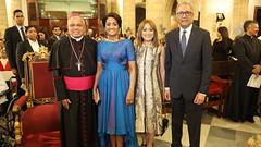 Primera dama asiste a la 29ª versión del concierto La Natividad del Señor en la Catedral Primada de América