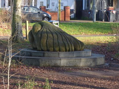 Dove of Peace sculpture at Brookvale Park