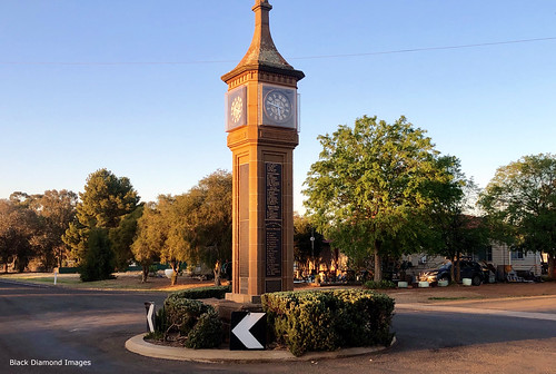 Town Clock, Bogan Gate, Central West, NSW