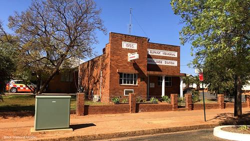 R. Elphick Memorial Ambulance Station, Lake Cargelligo, Wiradjuri Country, Central West, NSW
