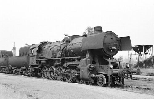 DR 52 3742 (WLF 1944) Bw Glauchau