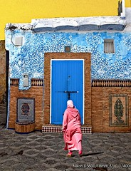Marocco provides a lot of colorful photo motifs