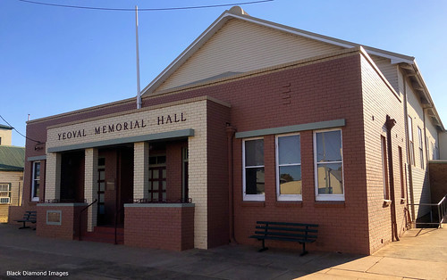 Yeoval Memorial Hall, Yeoval, Central West, NSW