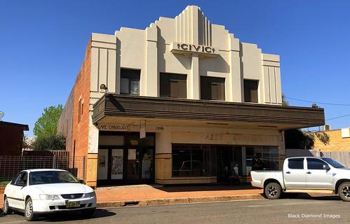Civic Theatre, Lake Cargelligo, Wiradjuri Country, Central West, NSW