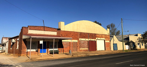 Old Buildings, Main Street, Yeoval, Central West, NSW
