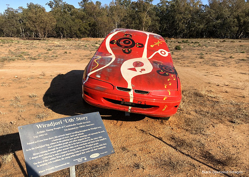 Wiradjuri 'Uth' Story, Outback Utes - Utes in the Paddock, The Gipps Way, Condoblin, Central West, NSW