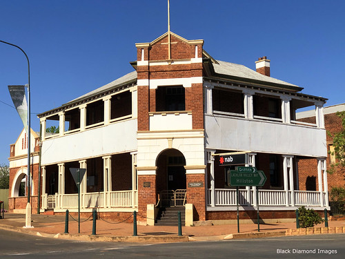 Commercial Banking Corporation Building, Lake Cargelligo, Wiradjuri Country, Central West, NSW