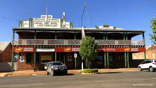 William Byrnes, Royal Mail Hotel, Lake Cargelligo, Wiradjuri Country, Central West, NSW