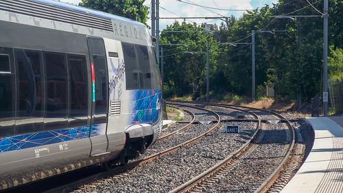 Direction Givors • Gare de Brignais