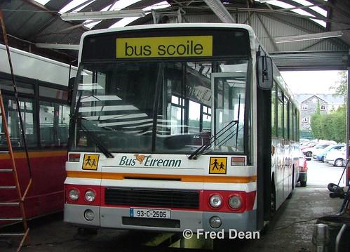 Bus Eireann DA5 (93C2505).