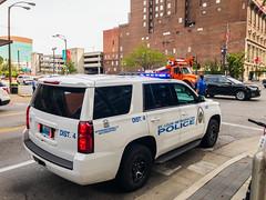 St. Louis metropolitan police vehicle