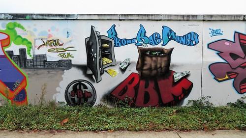 Wall Krush crew & co / Sint-Niklaas - 26 dec 2019