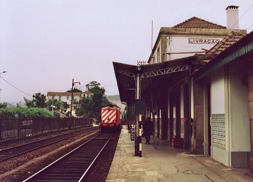 Estação de Livração, Portugal