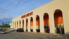 Home Depot in former Memco building
