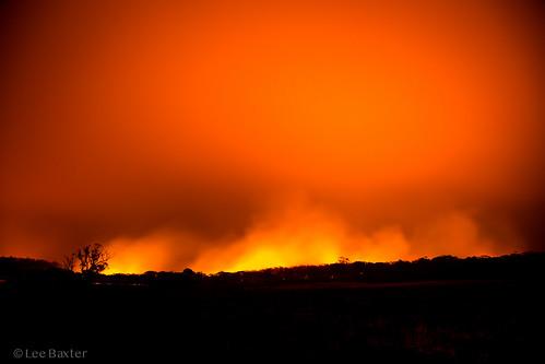 Green Wattle Creek Fire
