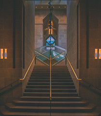 Arthur M. Sackler Gallery Staircase