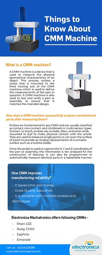 Things To Know About CMM Machine
