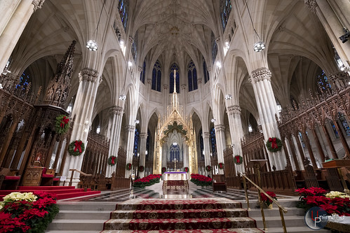 St. Patrick's Cathedral -  The sanctuary and Baldacchino