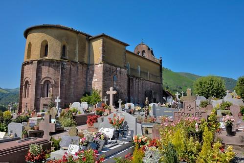 L'église de l'Assomption de Bidarray
