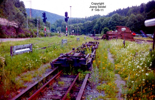 D-09439 Wilischthal Deutsche Reichsbahn Schmalspurbahn Rollwagen im August 1993