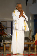 Maître P. K. Sambandan, dépositaire de l'art du Terukkuttu (Théâtre du Soleil, Paris)