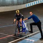 BK Piste Gent 500 m tt dames nieuwelingen en Junioren  28-12-2019