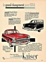 1954 Kaiser Manhattan (Canadian Ad)