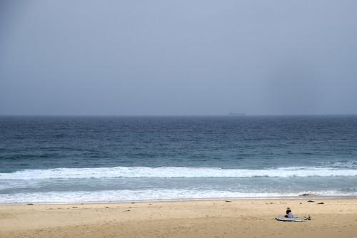 Surfer, Caves Beach