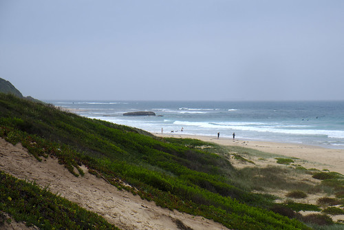 Dunes, Caves Beach
