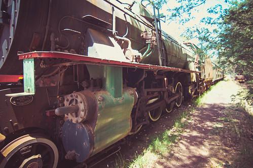 Pemberton Railyard_Old Loco