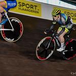 BK Piste Gent Sprint Dames Nieuwelingen & Junioren 28-12-2019