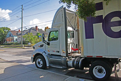 Peterbuilt FedEx Freight Truck, Clearwater, Florida (4 of 4)