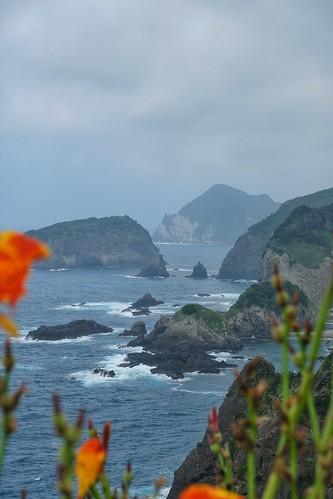 Vue depuis le parc de Yusuge dans la péninsule d'Izu