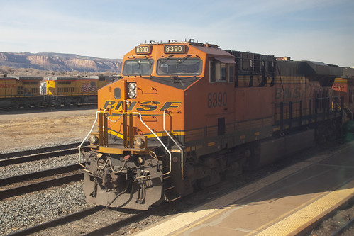 BNSF Power at Grand Junction