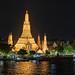 Night View Of Wat Arun (The Temple Of Dawn)