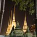 Night View of Wat Pho