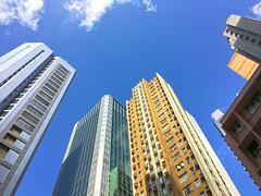 city scape, Lan Kwai Fong, Hong Kong