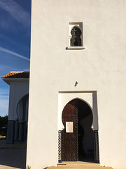 The Mosque, Blue City, Chefchaouene, Morocco, 摩洛哥
