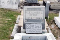 grave of Alexander G. Bethel