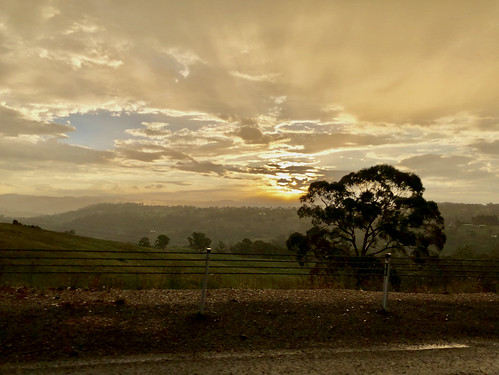 Sunset in Orange (Australia)