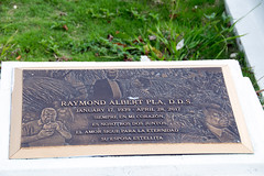 plaque for Raymond Albert Pla
