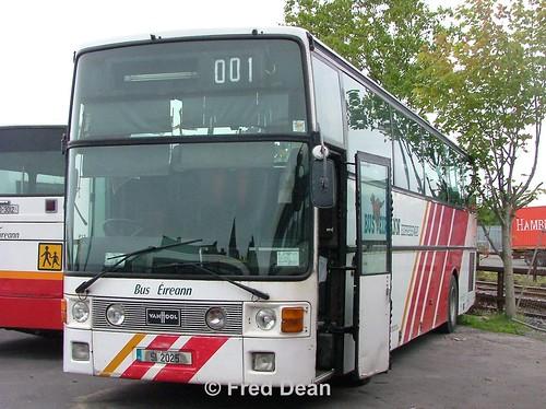 Bus Eireann CVH25 (SI2025).