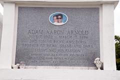 tomb of Adam Arnold