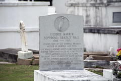 Historic Marker Sophronia Bradley Hall